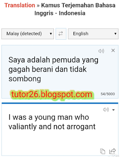 Translate Kamus Online | Terjemahan Bahasa Inggris Indonesia | Gambar hasil dari menggunakan translator online