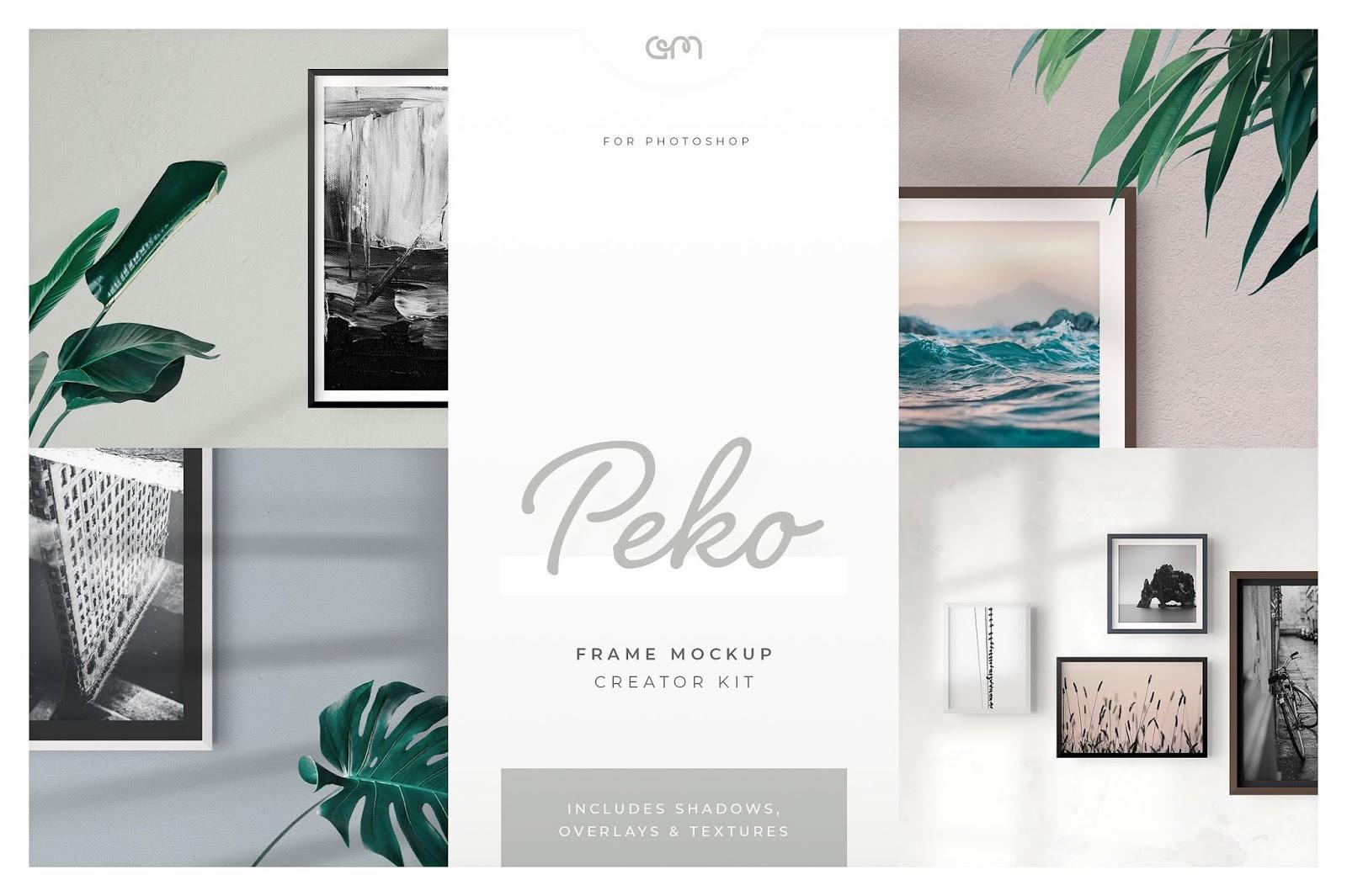 Peko Frame Mockup Creator Kit