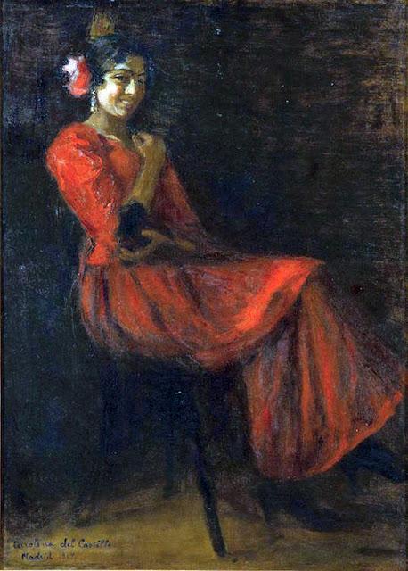 Carolina del Castillo, Maestros españoles del retrato, Retratos de Carolina del Castillo, Pintores Asturianos, Pintor español, Pintora Carolina del Castillo, Pintores de Gijón, Pintores españoles