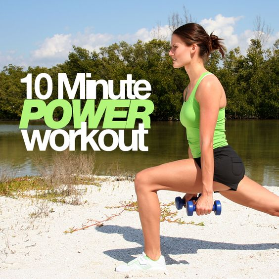 10-Minute Power Workout