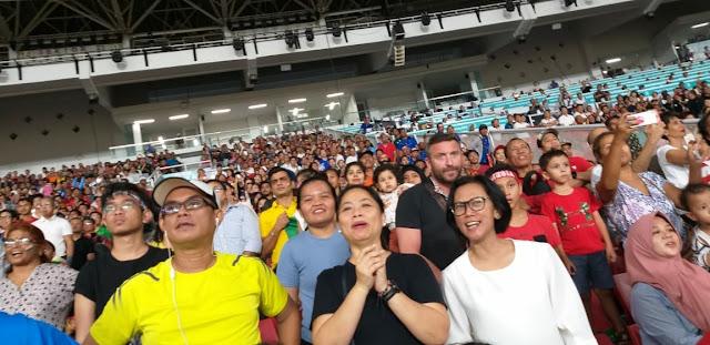 Mengabadikan moment Asian Games 2018 Dengan Smartphone Samsung J8