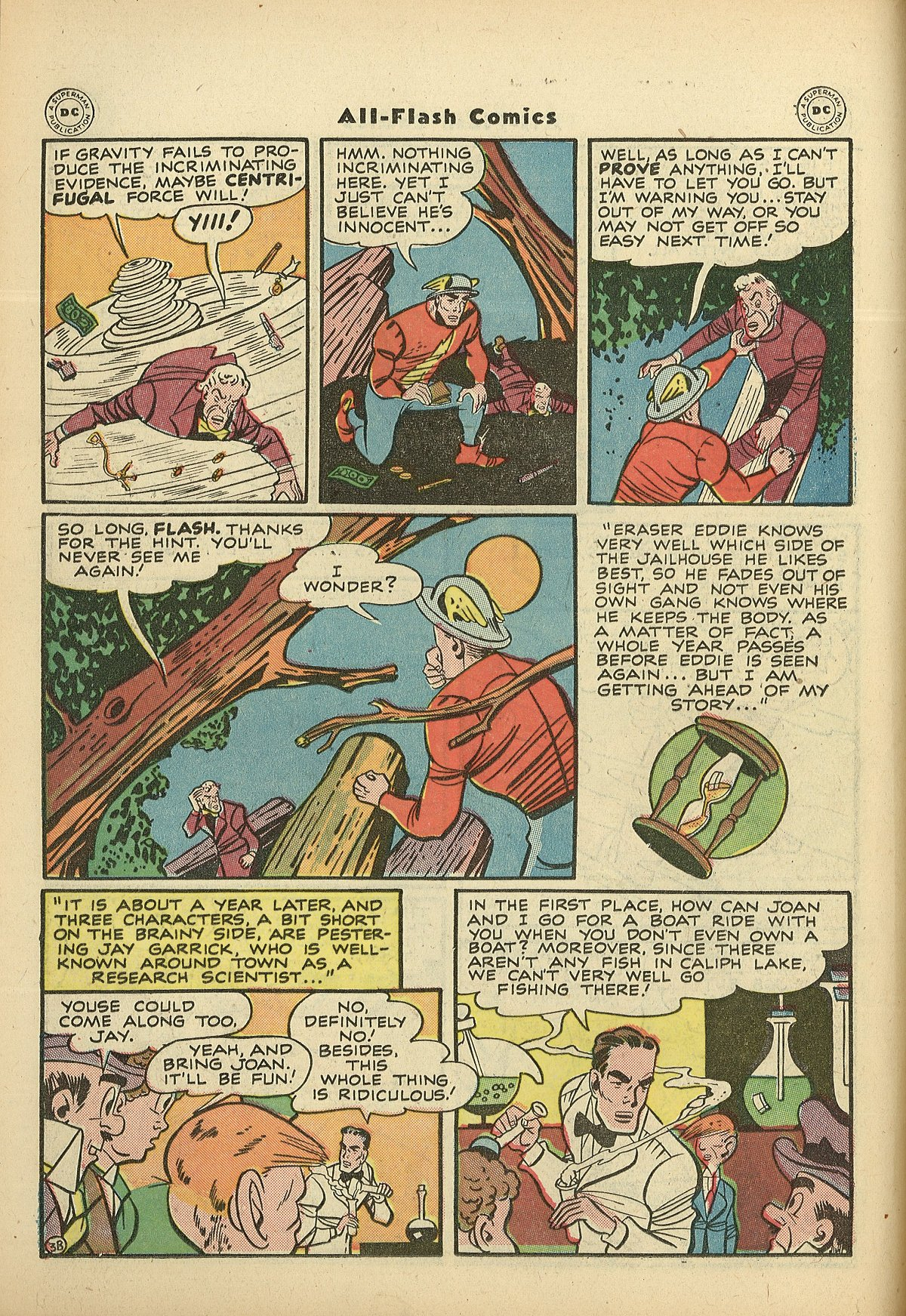 Read online All-Flash comic -  Issue #27 - 18
