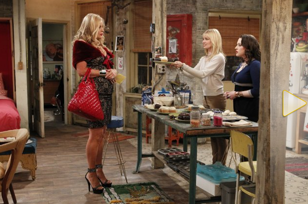 """Review 2 Broke Girls s01e14 """"And the Upstairs Neighbor ..."""