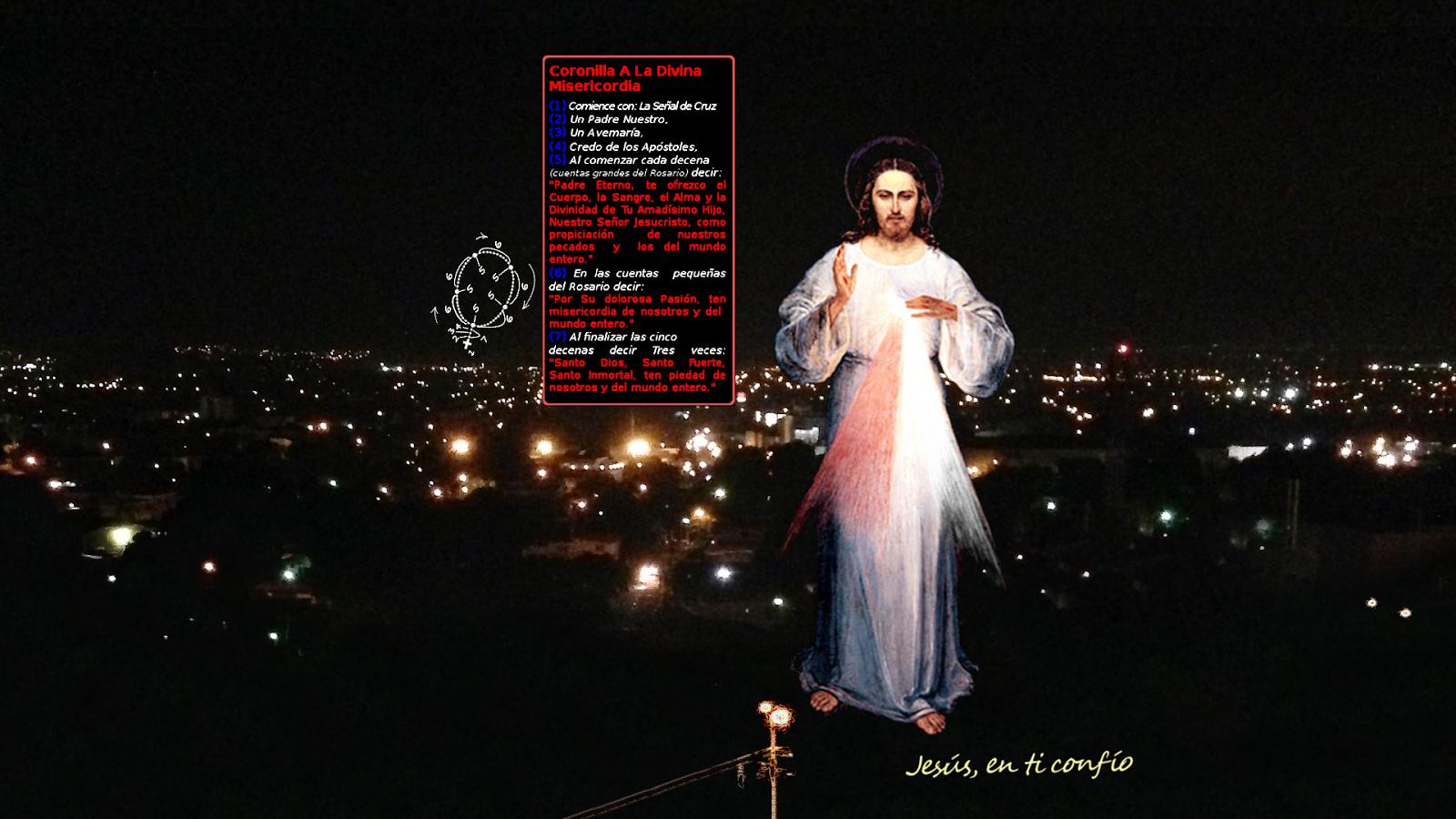 divina misericordia pide recemos la coronilla