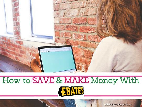 ebates make money online