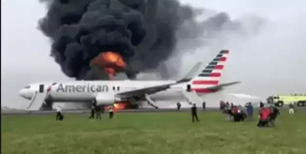 Ντοκουμέντο: Οι στιγμές τρόμου μέσα στο φλεγόμενο αεροσκάφος της American Airlines
