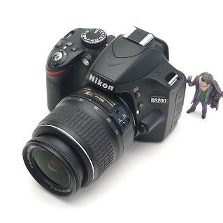 Kamera DSLR Nikon D3200 | SC : 6 Ribu an
