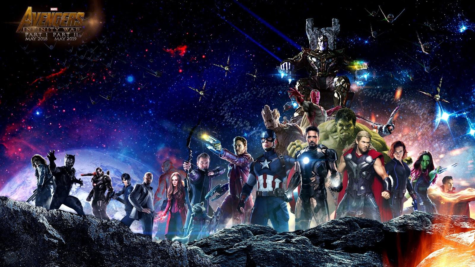 Avengers Infinity War Wallpapers - Infinity War Superheroes 4k