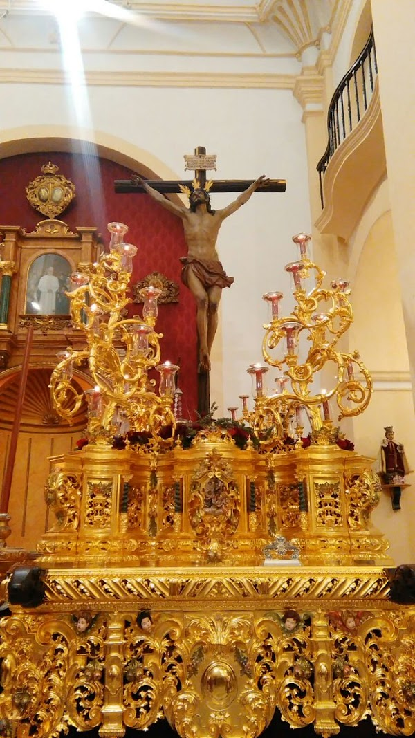 El Cristo de la Expiración saldrá en su paso en el Vía Crucis oficial y volverá el 16 de marzo en extraordinaria