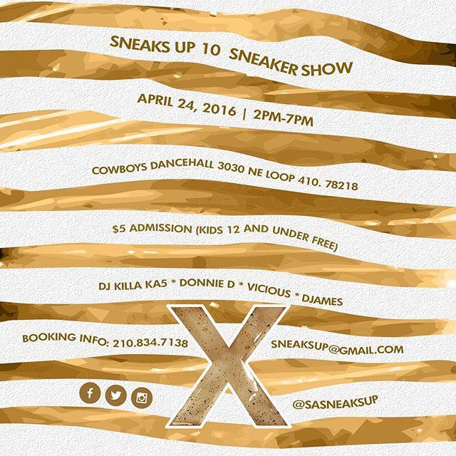 Sneaks Up, San Antonio's prominent sneaker show.
