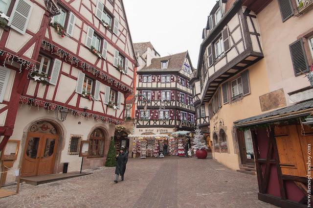 Colmar Alsacia Viajar Francia Navidad