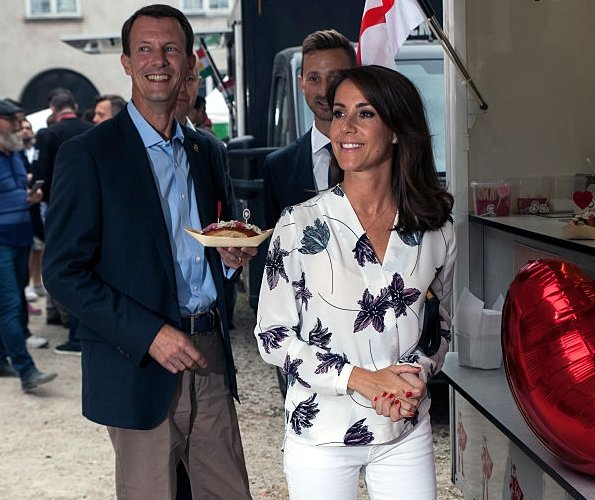 Princess Marie and Prince Joachim at Top Dog Charity Competition 2016 - Copenhagen Cooking and Food Festival 2016 - Yasser Rahim Naz Ahmed Amin from Kurdistan