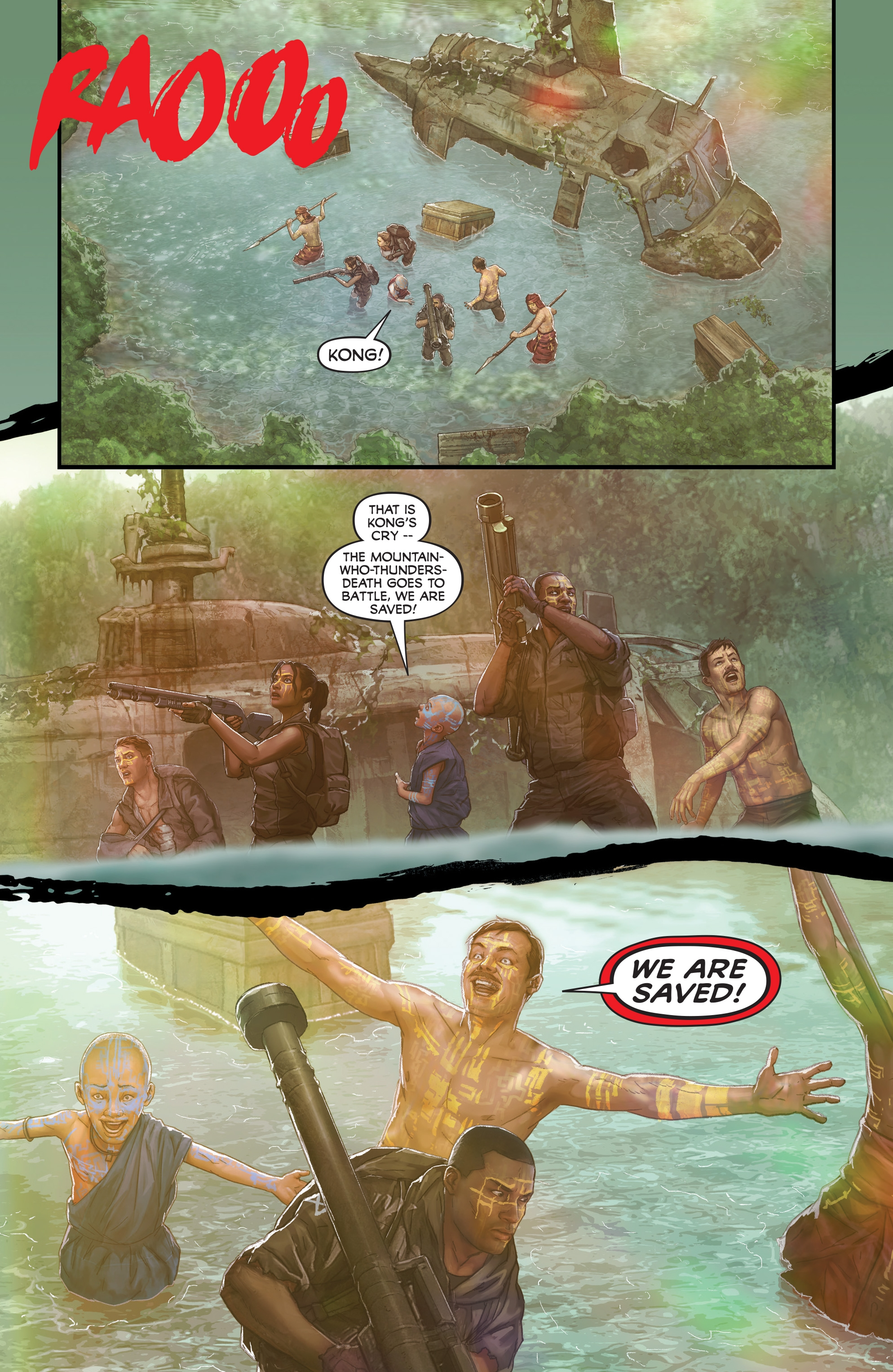 Read online Skull Island: The Birth of Kong comic -  Issue #2 - 20