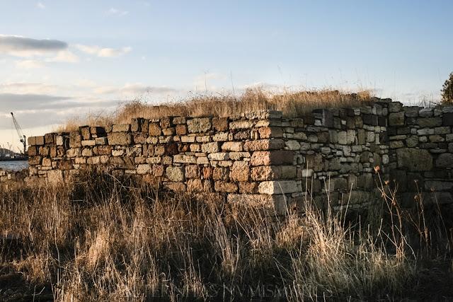 Torreón de flanqueo del castillo bizantino de Kyme