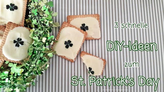 3 schnelle DIY-Ideen zum St. Patrick's Day // funkelperlen.blogspot.com