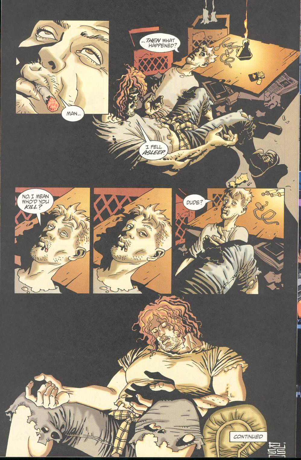 Read online 100 Bullets comic -  Issue #21 - 23