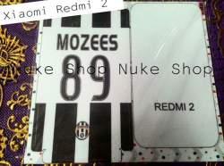 garskin, skin, skotlet, stiker, gambar tempel, handphone Xiomi redmi 2 Juventus