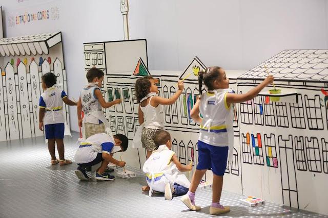 Cidade Colorir no RioMar Recife