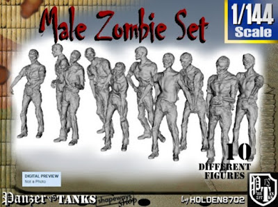 1-144 Male Zombie Set picture 1