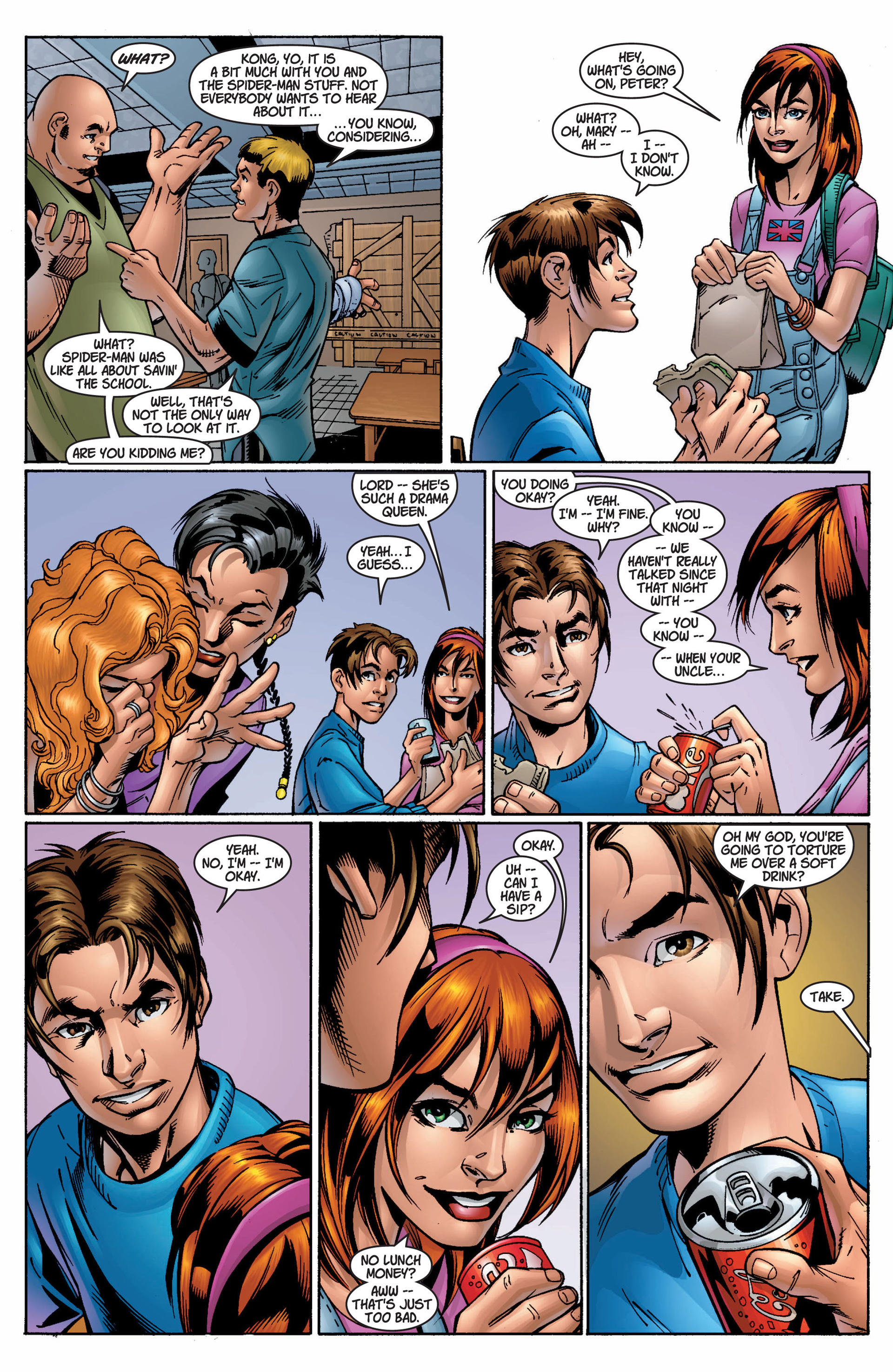 Read online Ultimate Spider-Man (2000) comic -  Issue #9 - 14