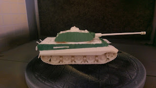 Tiger 2 King Tiger Green Stuff Zimmermit