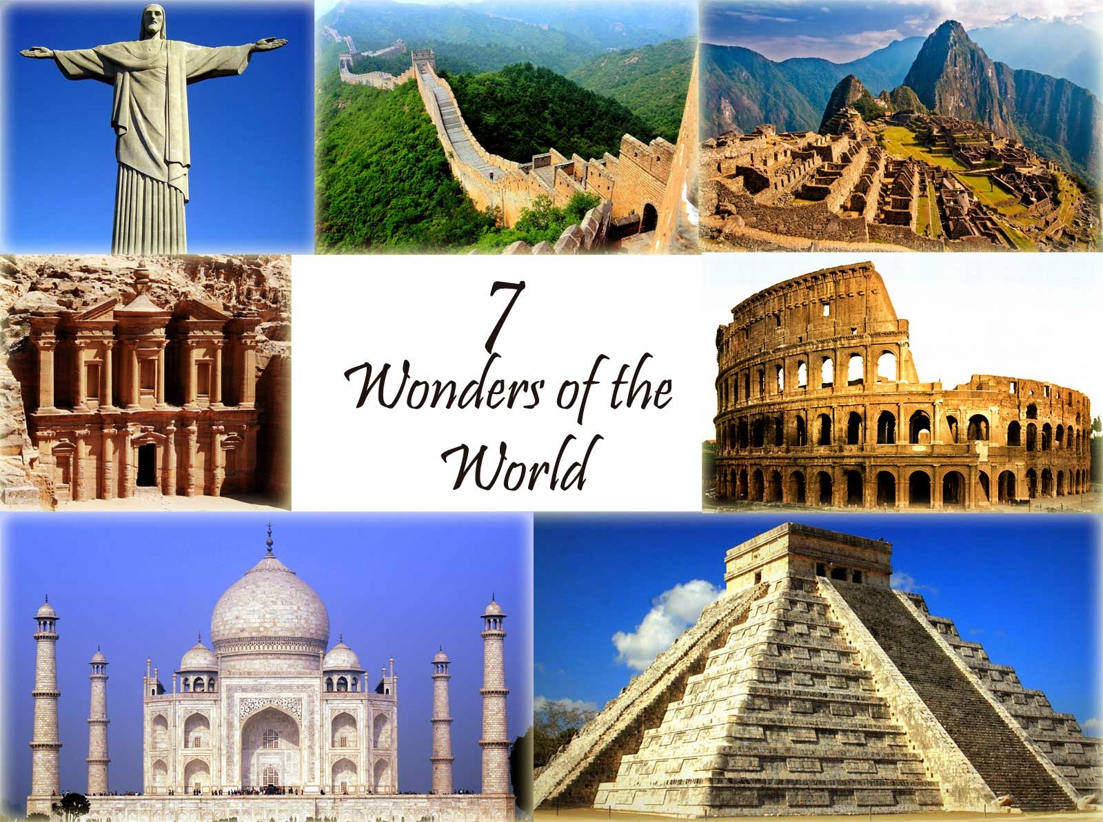 The Seven Wonders of the Ancient World  with pics