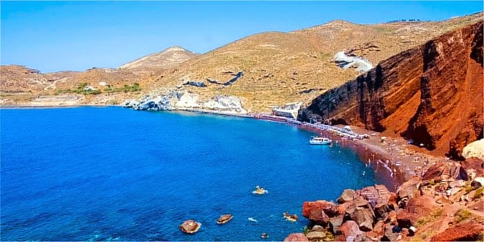 Santorini, spiagge più belle