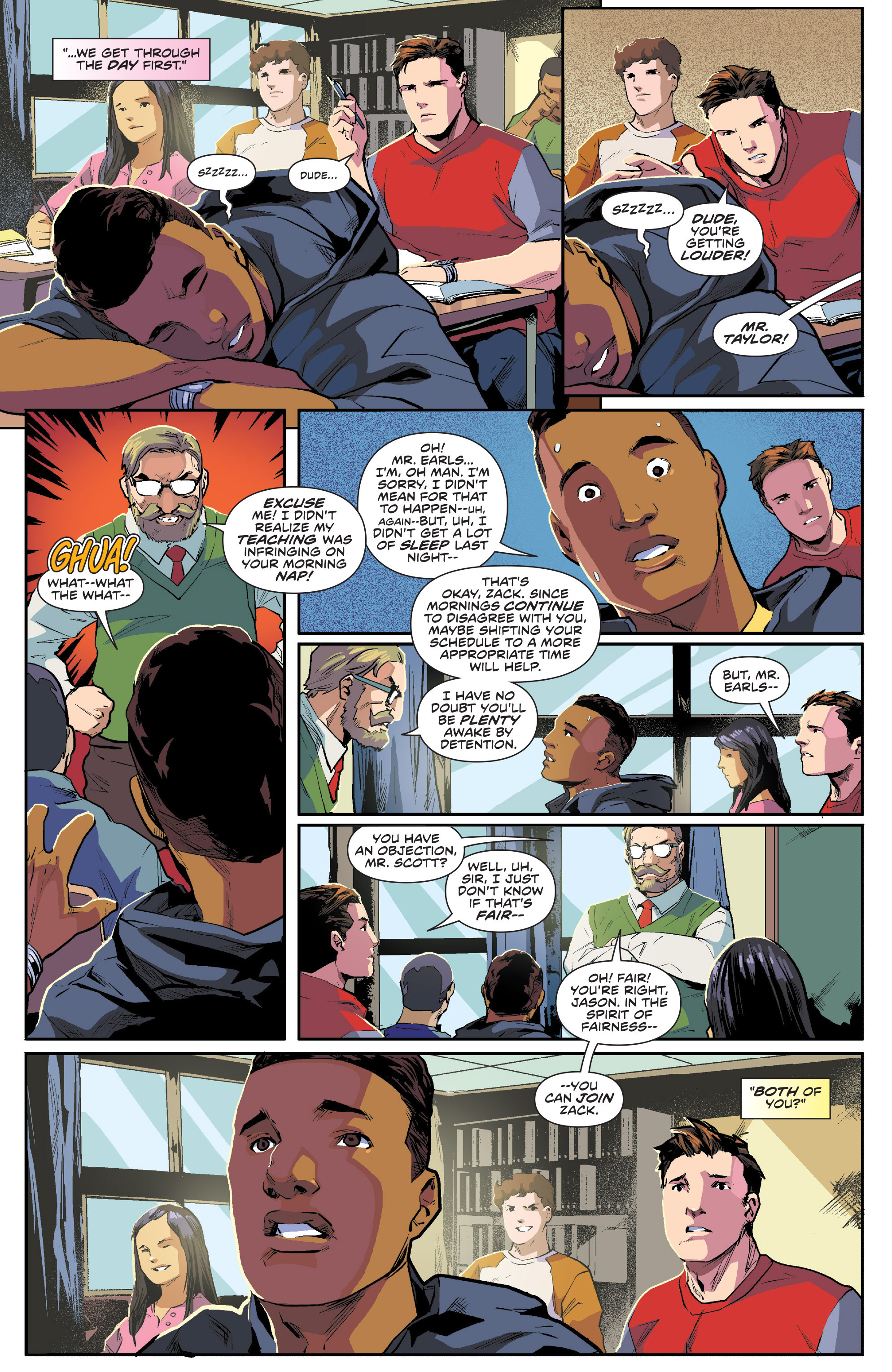 Read online Mighty Morphin Power Rangers comic -  Issue #1 - 10