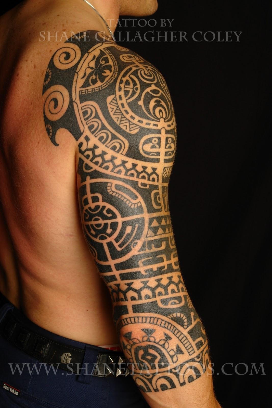 "Maori Tattoo Sleeve: MAORI POLYNESIAN TATTOO: Dwayne ""The Rock"" Johnson"