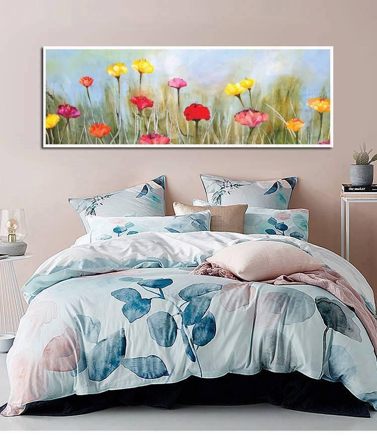 Tranh treo tường hoa cẩm chướng