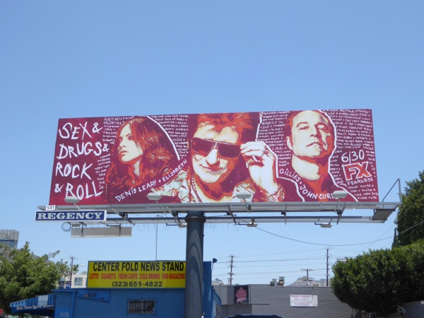Sex & Drugs & Rock & Roll season 2 billboard