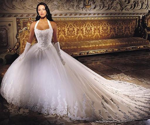 gaun pengantin mewah
