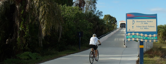 Bike Path over the Tamiami Trail