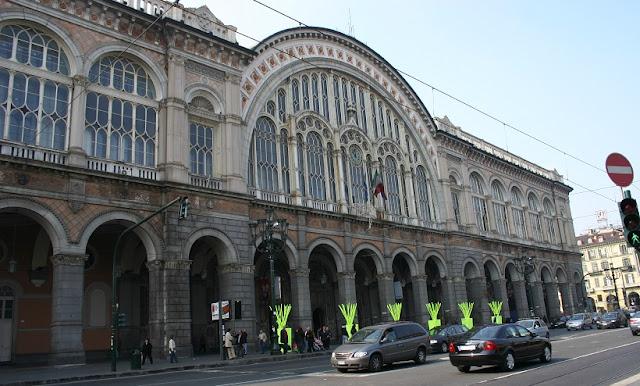 Região próxima a estação de trem Porta Nuova em Verona