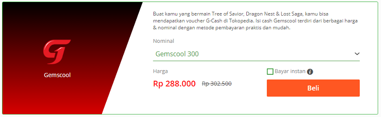 voucher gemscool tokopedia 2