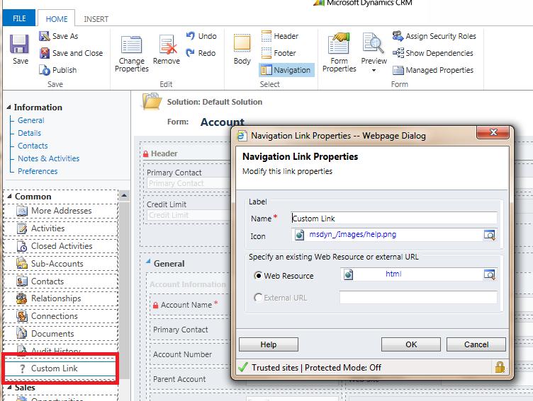 Guru Prasad's Blog: Microsoft Dynamics CRM: Passing parameters to