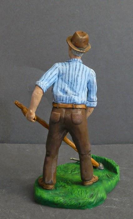 statuine presepio fatte a mano personalizzate contadino orme magiche