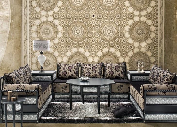 Best Salon Marocain Mauve Et Gris Contemporary - House Design ...