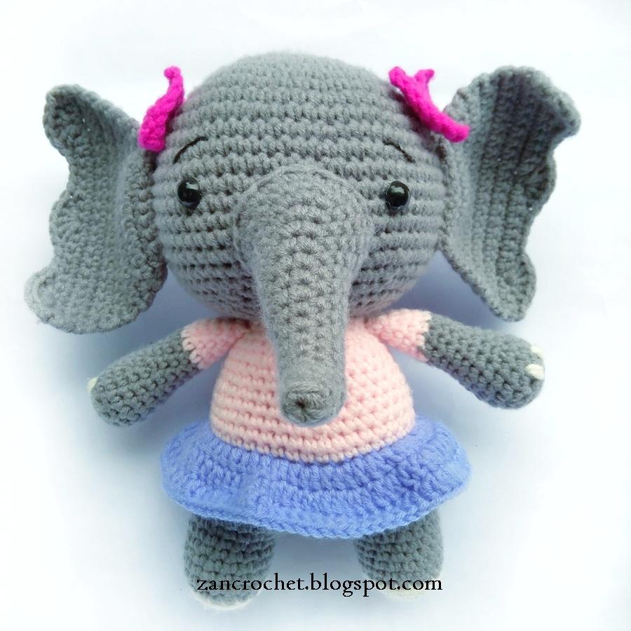 Elephant ~ Zan Crochet