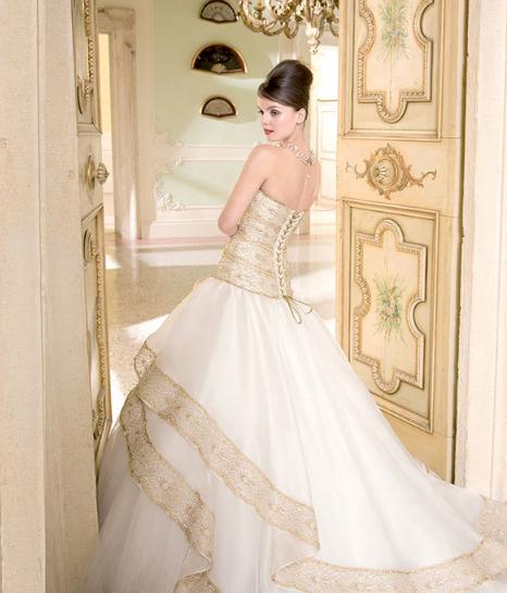 oro colore matrimonio 2014 collezione sposa Aimée
