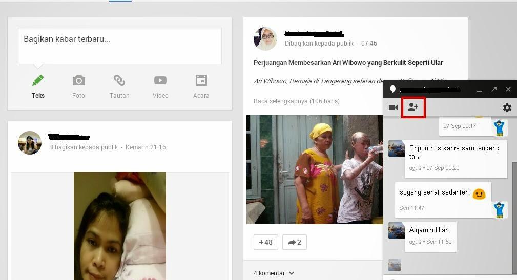 Cara Membuat Hangouts Group Bersama di Google Plus