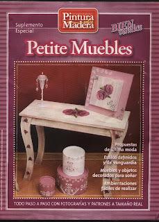 Suplemento Pintura sobre Madera Petite Muebles