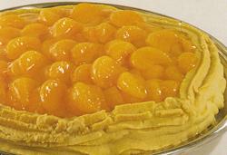 Marcipanų pyragas su mandarinais