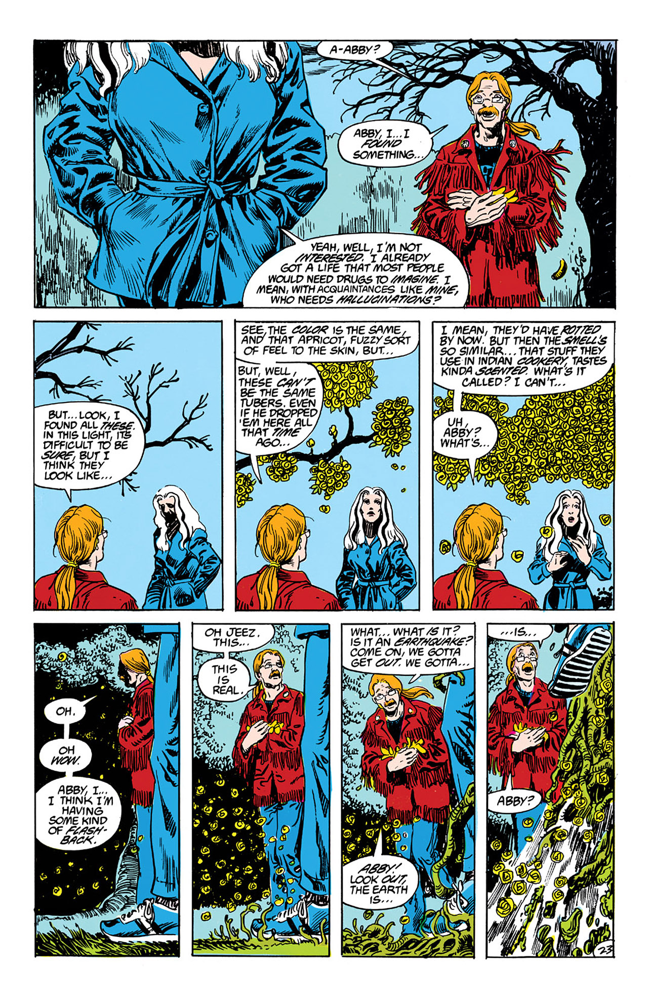 Swamp Thing (1982) Issue #63 #71 - English 23