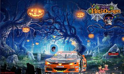 Halloween #NASCAR Bravura