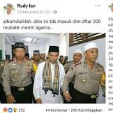 Dikecam Warganet karena Hina UAS, Rudy Ian Mengaku Menyesal dan Minta Maaf