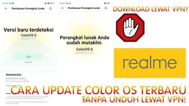 Cara Upgrade Sistem Realme 3 Tanpa Unduh Lewat VPN! - Alldy JK