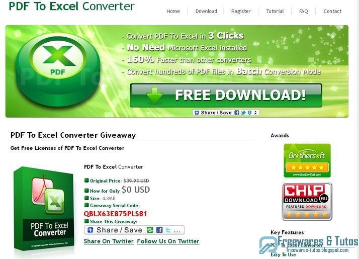 free pdf to excel converter freeware