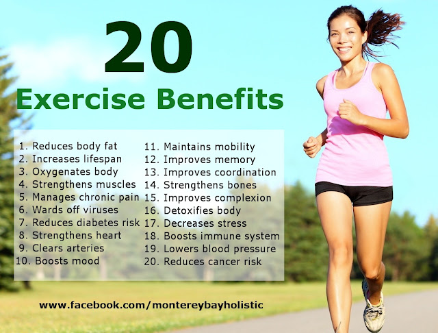 20 Benefits of Exercise