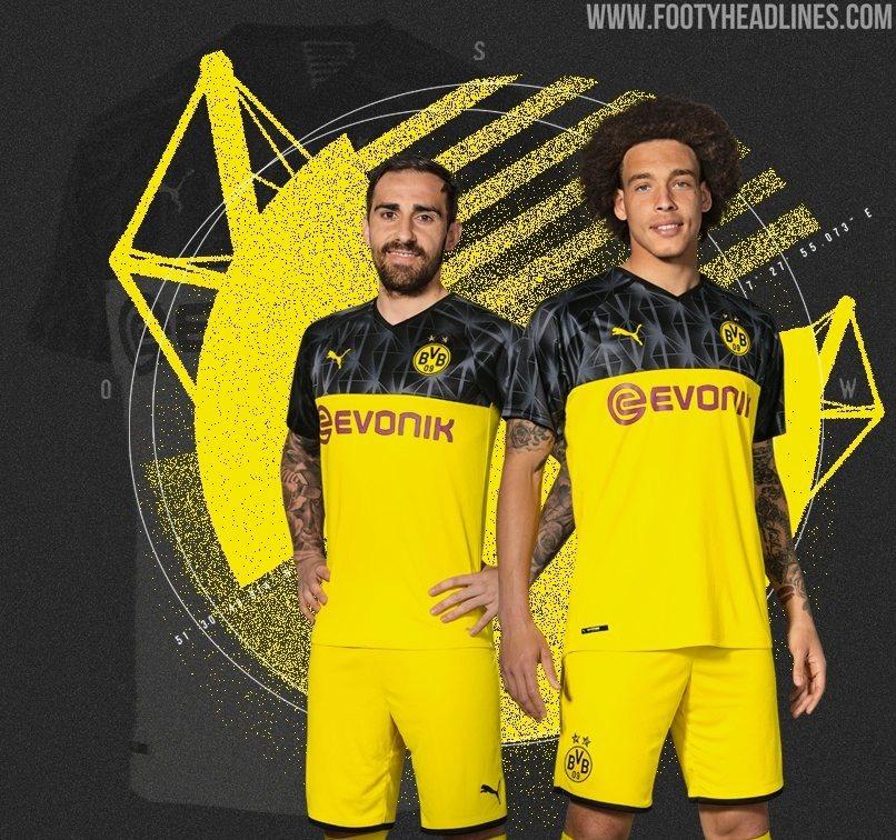 Borussia Dortmund 19 20 Champions League Trikot